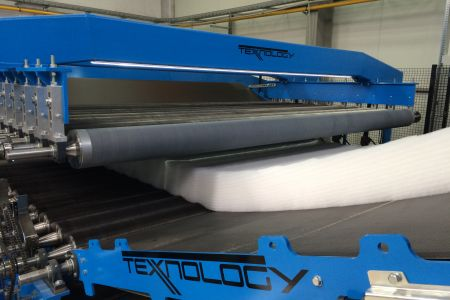 Texnology X2 thermobonding line E 25 40 SF 40 5T - Texnology video