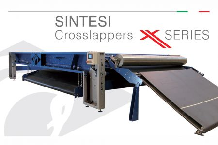 SINTESI CROSSLAPPER X SERIES - Texnology video